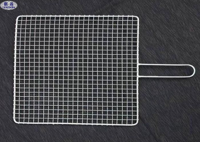 Custom BBQ Barbecue Grill Wire Mesh Non - Stick Reusable Net For Fish