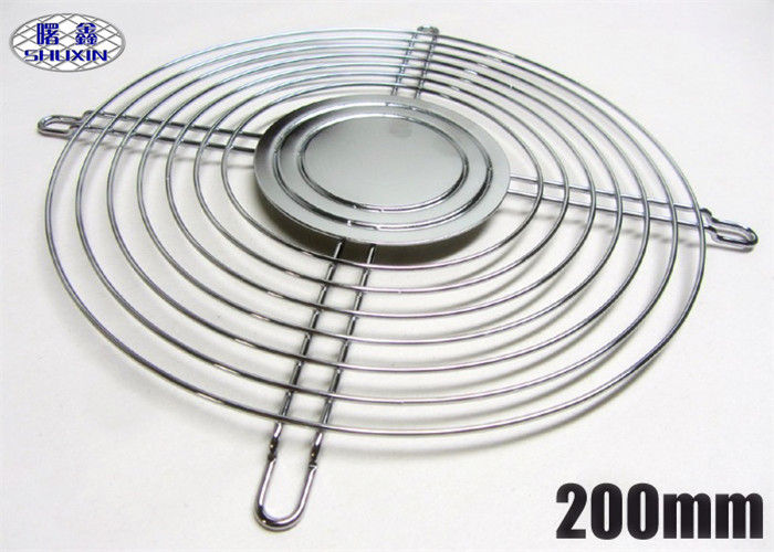 Stainless Steel Computer Fan Guard Welded Metal Wire PC Case 4-20 Cm